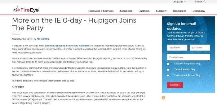 hupigon-report